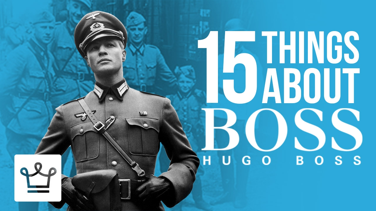 Nazi uniforms were manufactured by Hugo Boss | Science Facts