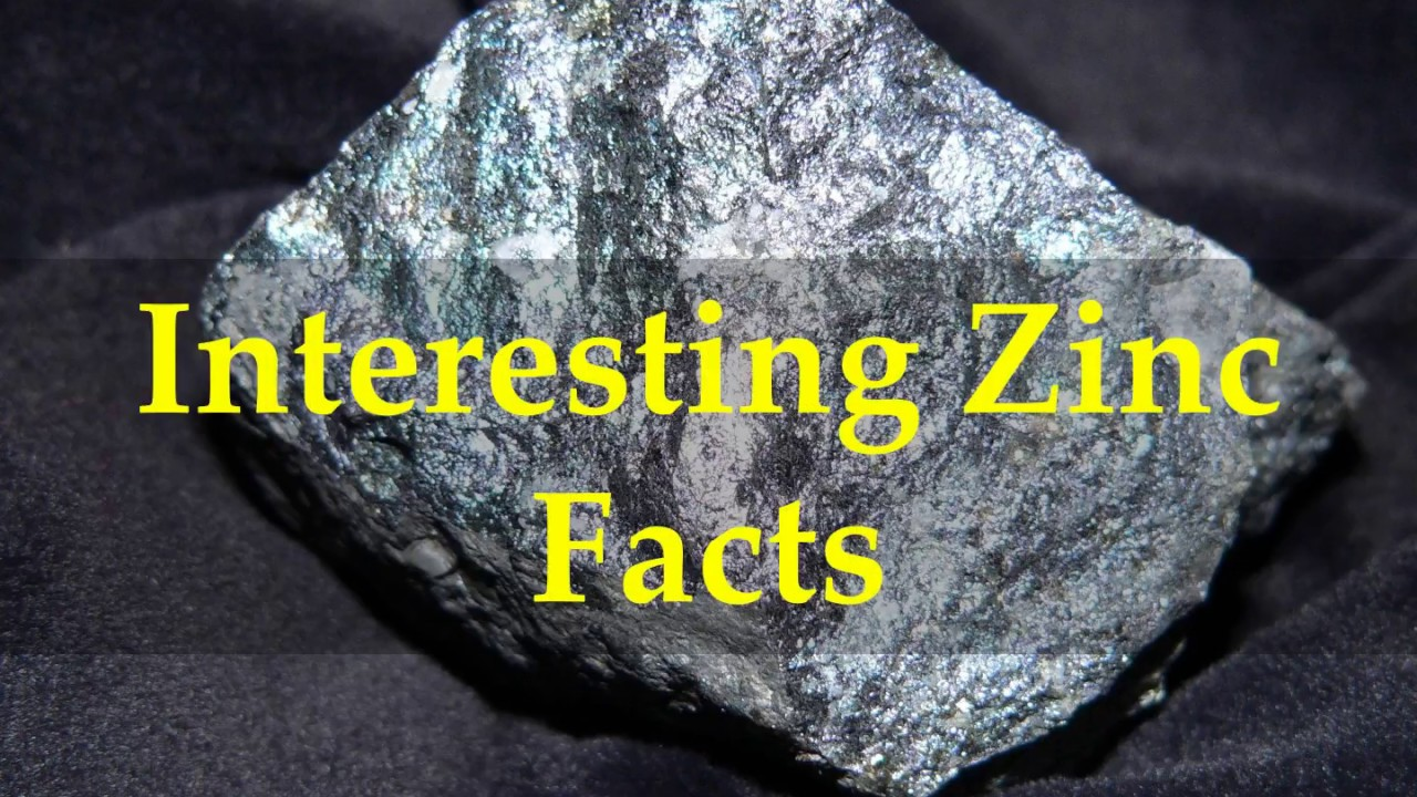 Zinc Facts for Kids
