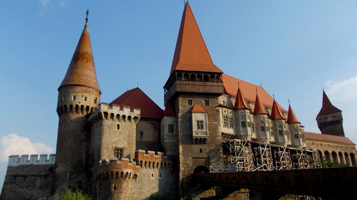 This is one of the Vlad's castles