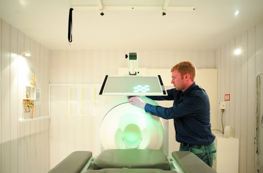 Sir Peter Mansfield Magnetic Resonance Centre