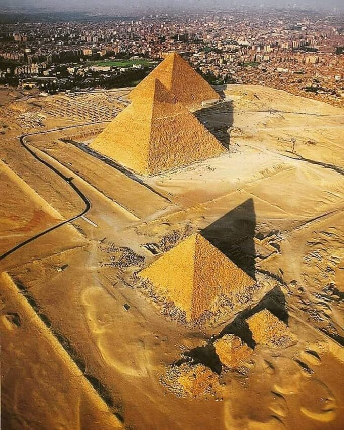 """The Human Origin Project on Instagram: """"Did you know? . 1. The three pyramids of Giza are a perfect reproduction of the 3 …   Pyramids of giza, Egypt tours, Egypt"""